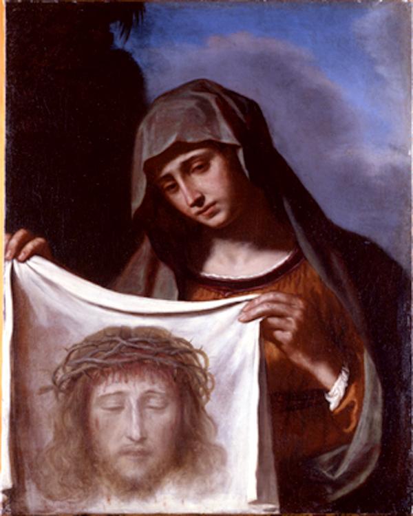Veronica, Giovanni Francesco Barbieri, detto Il Guercino, olio su tela 60x76, 1600, collezione Carige